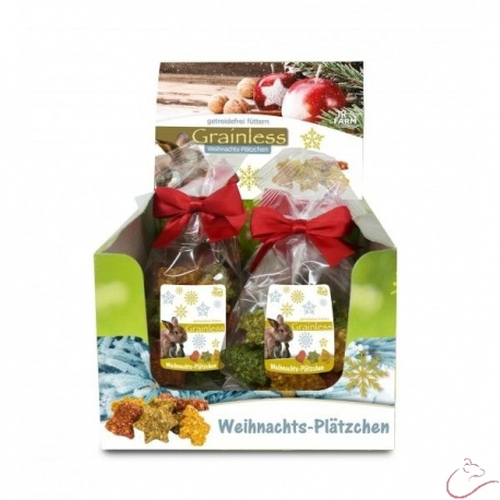 JR Grainless Vianočné bezobilné sušienky  75g