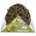 JR Farm-klbko z vŕbového prútia plnené senom 180 g