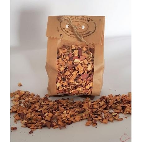 Sušené jablká-kocky 30g
