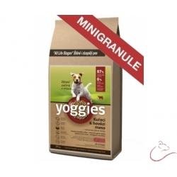 Yoggies , KURACIE + HOVÄDZIE mäso, MINIGRANULE lisované za studena 4kg