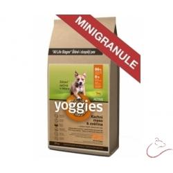 Yoggies Active kačica a jeleň MINIGRANULE lisované za studena 4kg