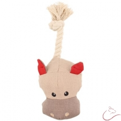 Látková hračka pre psa - hroch