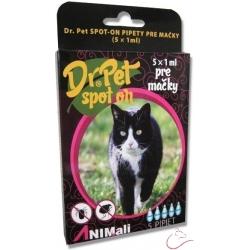 Dr.Pet spot-on antiparazit.pipeta pre mačky