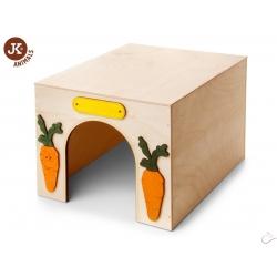 Domček Kváder, drevený domček pre králiky