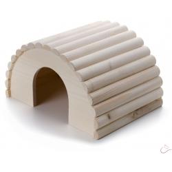 Drevené iglu králik
