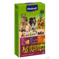 Vitakraft Kräcker pre hlodavce Trio mix