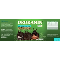 Deukanin Zwergenfutter pre zakrslé králiky