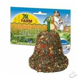 JR Farm Zvonček seno s mrkvou  1 kus / 125g