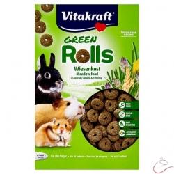 Vitakraft Green Rolls zmiešané krmivo pre všetky hlodavce 300g