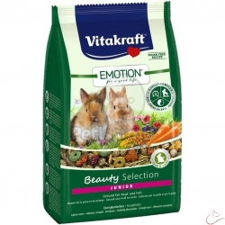Vitakraft Emotion Beauty Selection Junior pre trpazličích králikov 600g