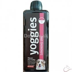 500ml - Lososový olej pre psov a mačky Yoggies