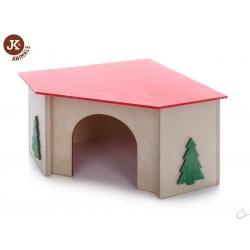 JK Rohový domček morča 21x21x13 cm