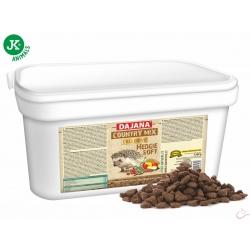 Dajana - COUNTRY MIX EXCLUSIVE, ježko 1 500 g, krmivo pre ježkov