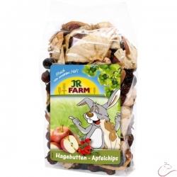 JR Farm Šípky a plátky jabĺk 125g