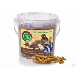 JK Sušené múčne červy JK Dried mealworms, 80 g
