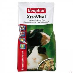 BEAPHAR XtraVital krmivo morča 1kg + vit. C
