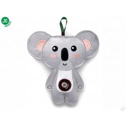 Koala, pískacia hračka z pevnej textilnej látky, 18 cm