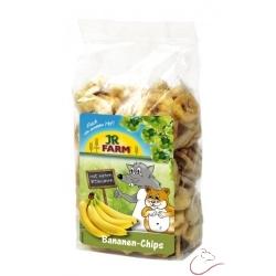 JR Farm Sušené plátky banánov 150g
