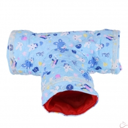 "Tunel ""Modrý Zajko T"" rozmer 30 cm x 12 cm"