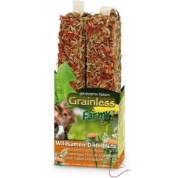 JR Farm - Tyčinka Grainless Semená divokých rastlín - Kvet bodliaka 140 g