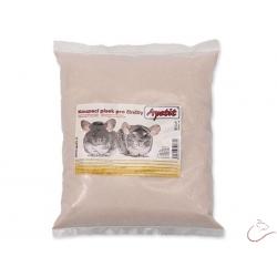 Kúpací  piesok APETIT pre činčily, osmáky a pieskomily  1kg