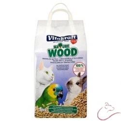 Nature Wood podstielka-drevené pelety 5 kg