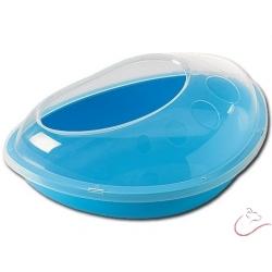 Kúpeľňa SAVIC pre činčilu-modrá 35x23x15cm