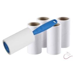 BASTIS-Čistiaci valček na textil 1+4 ks náhradných čistiacich pások