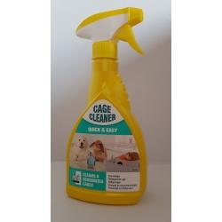 Čistiaci a dezinfekčný prostriedok na čistenie klietok  500 ml