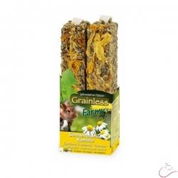 JR Farm tyčinka slnečnica-harmanček 140 g / 2 kusy v balení