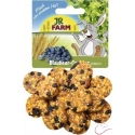 JR Farm celozrnné sušienky s čučoriedkami 80g