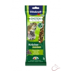 VITAKRAFT tyčinky Emotion Kracker Herbal 3 kusy
